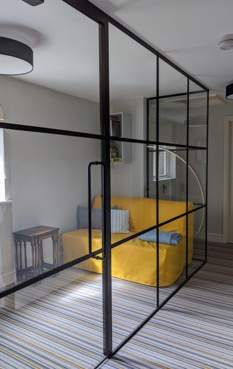Domestic House Glass Partition
