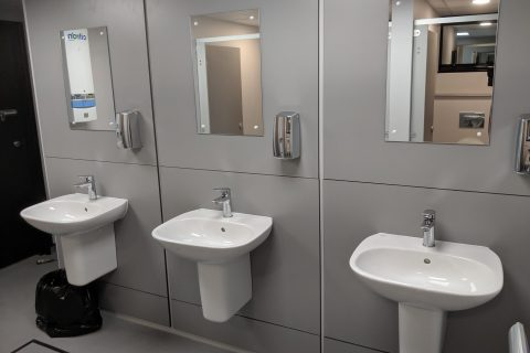 Commercial Washroom Design Milton Keynes