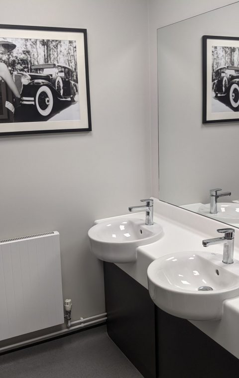 Commercial Washroom Refurbishment Kettering Northamptonshire