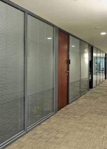 Glass Manifestation and Blinds